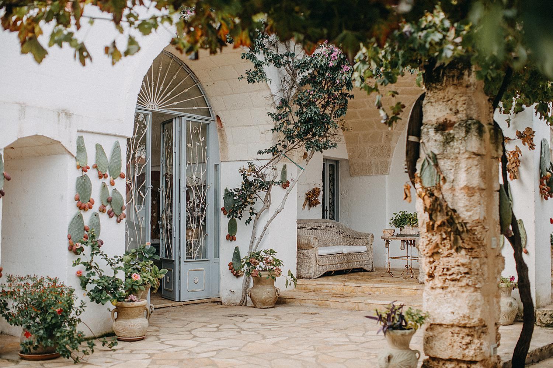 masseria montenapoleone entrance