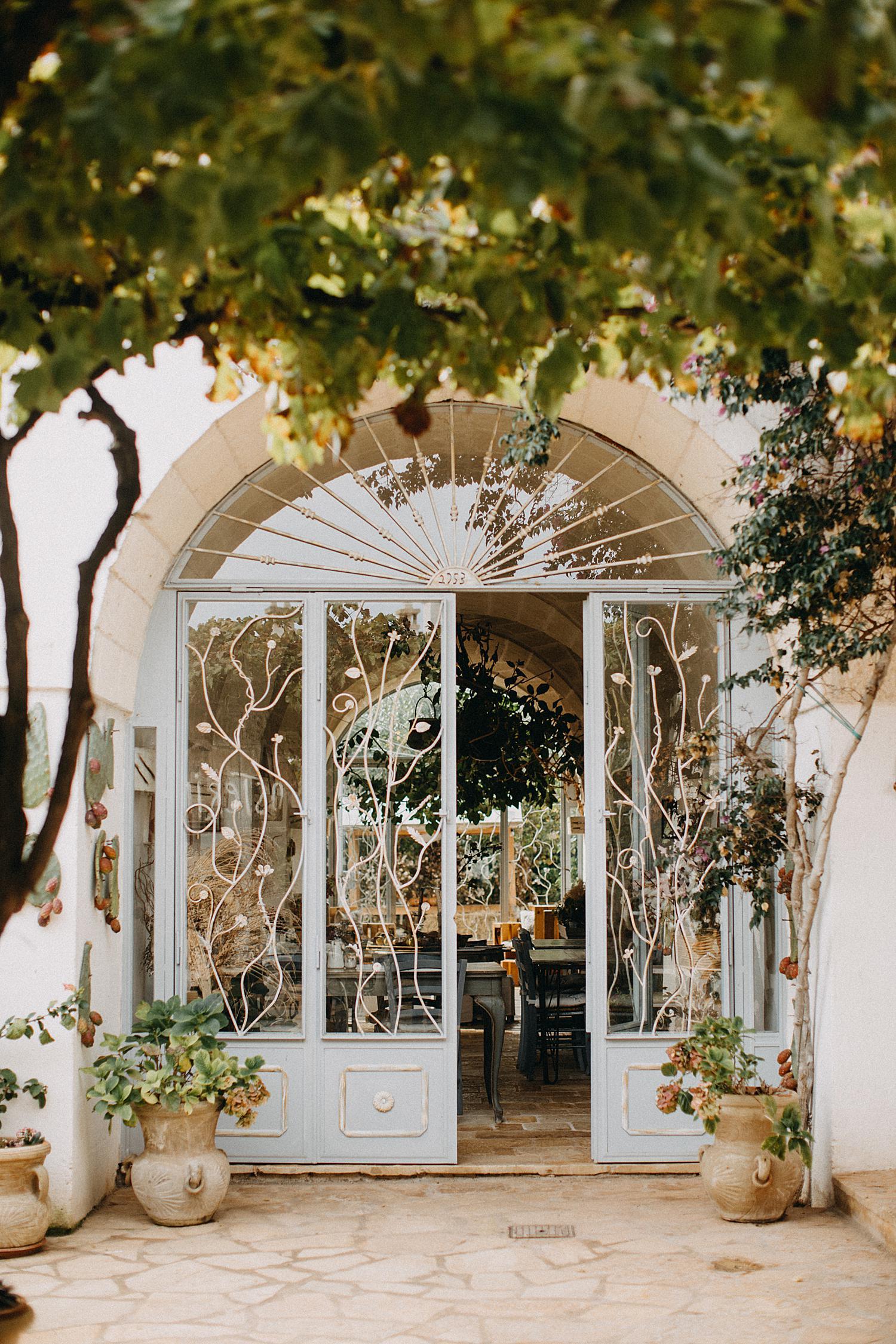 masseria montenapoleone door