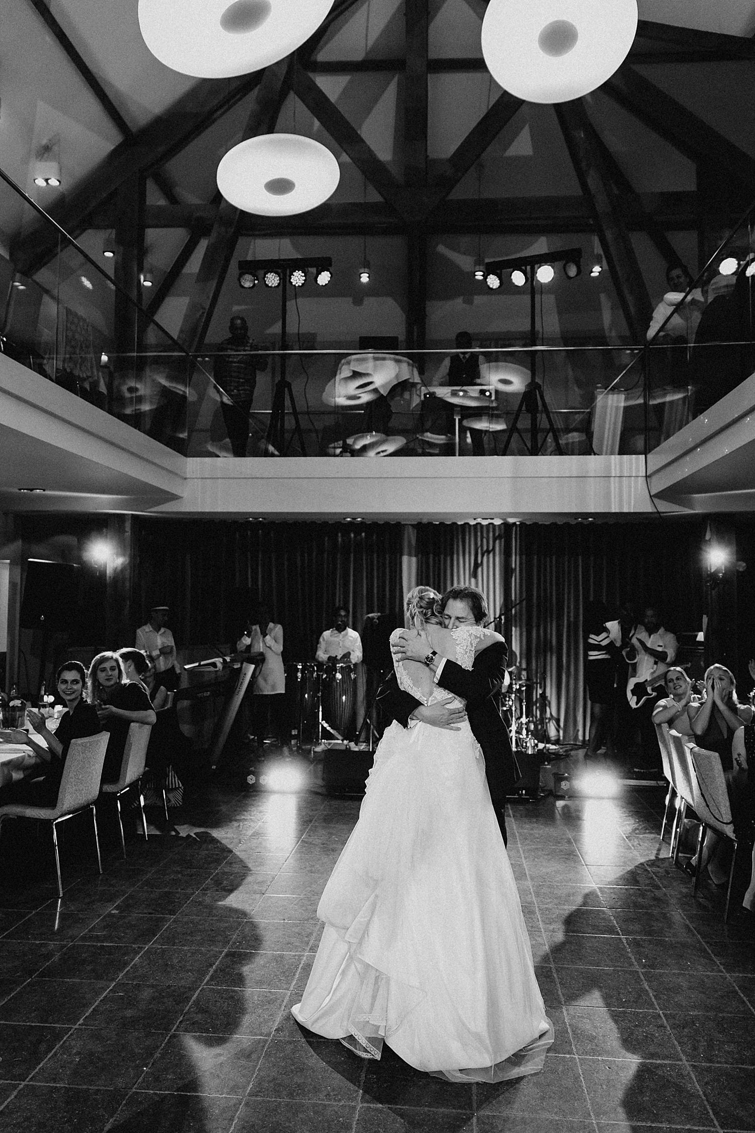 vader dans met bruid Fonteinhof