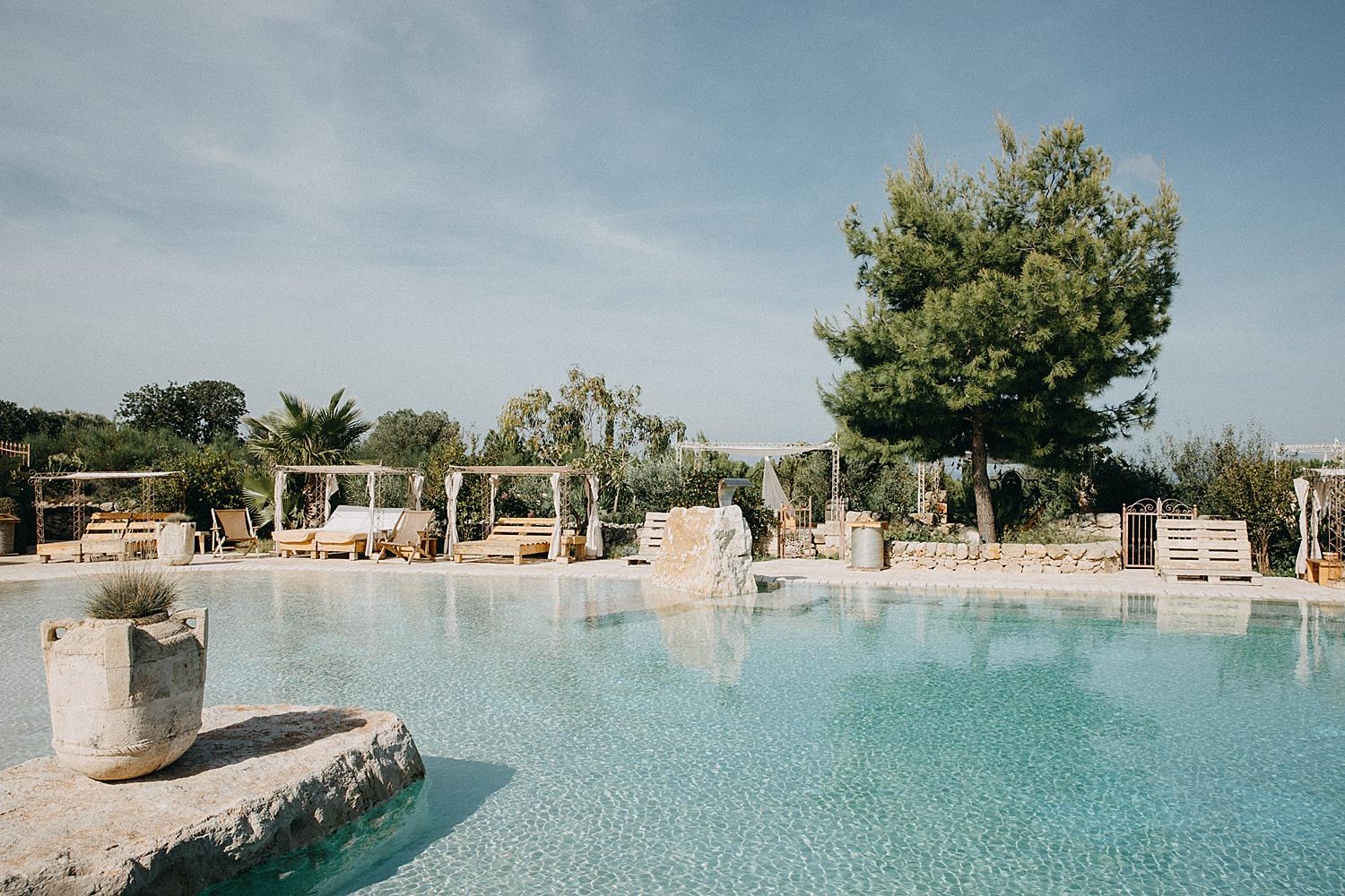 masseria montenapoleone swimming pool