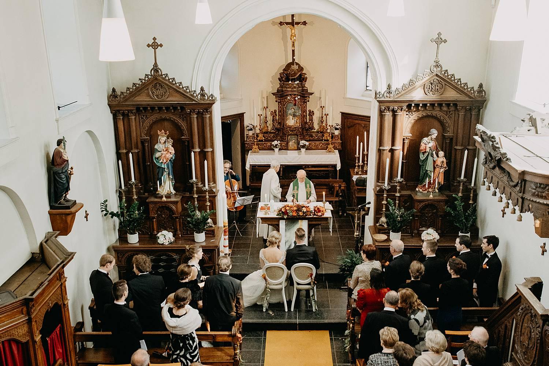 Sint-Dionysiuskerk kerkelijk huwelijk bruidspaar