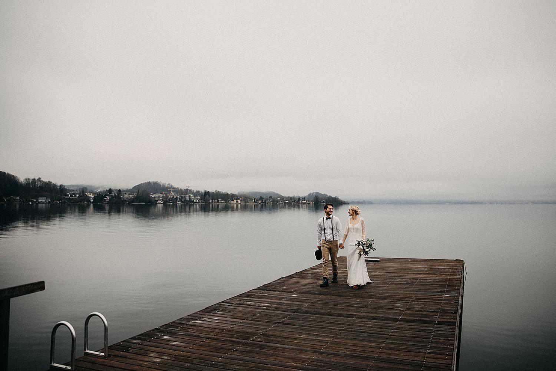 huwelijk buitenland Oostenrijk Traunsee