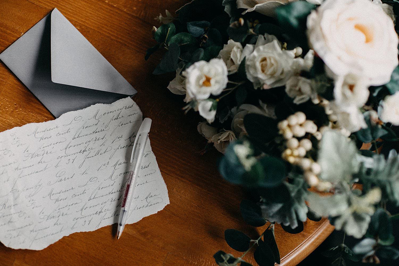 detail liefdes brief huwelijk Oostenrijk