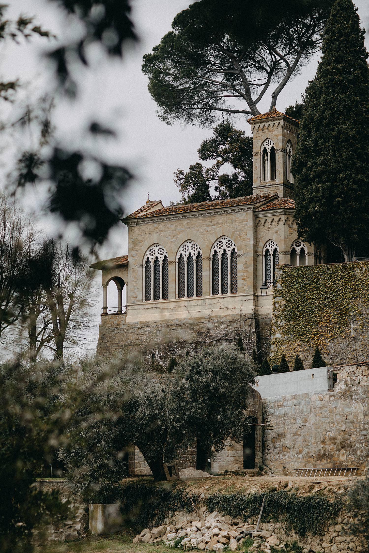 Villa le Fontanelle kerk