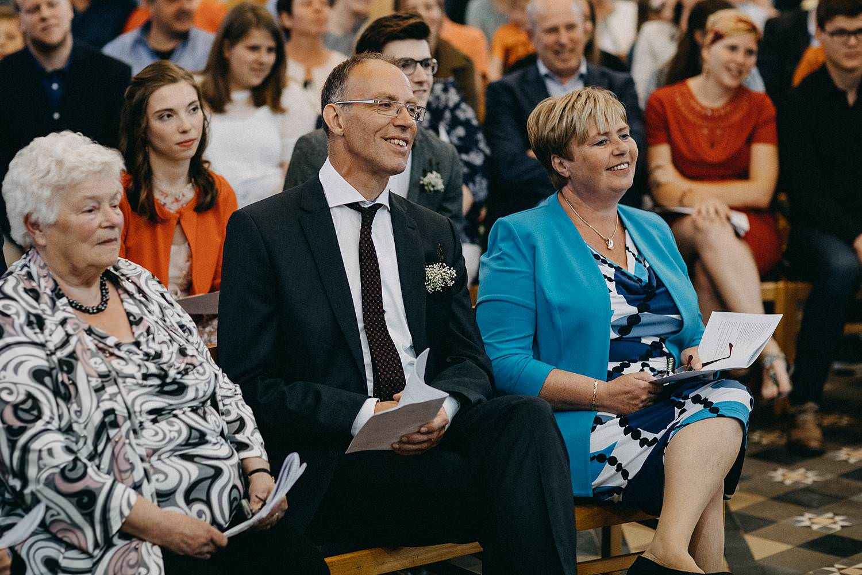 Kerk Gullegem huwelijk familie misviering