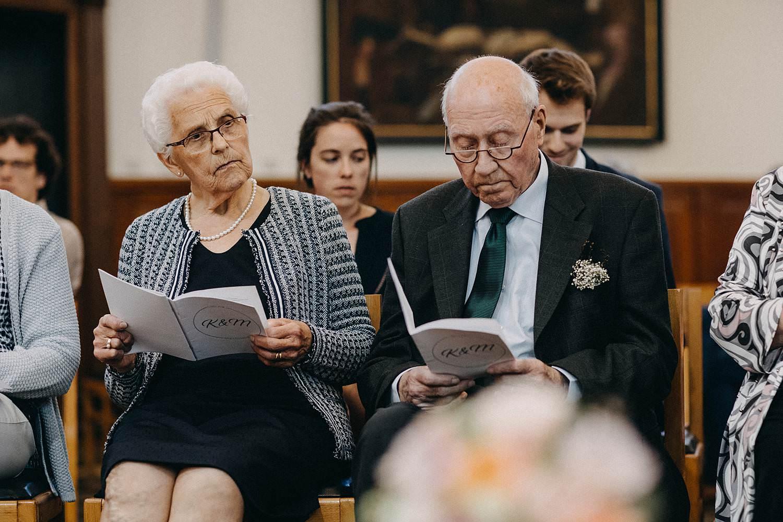 Kerk Gullegem huwelijk familie