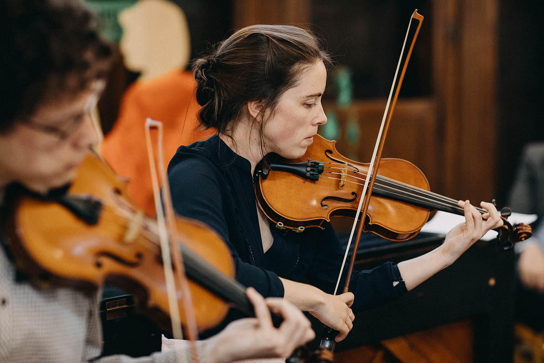 Kerk Gullegem huwelijk live viool muziek