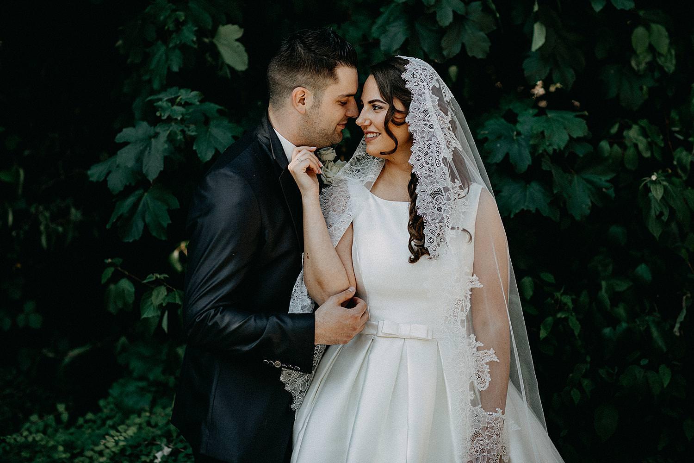 trouwreportage bruidspaar stadspark Geel