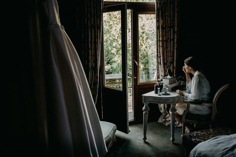 Huwelijk voorbereiding hotelkamer Roosendaelhof