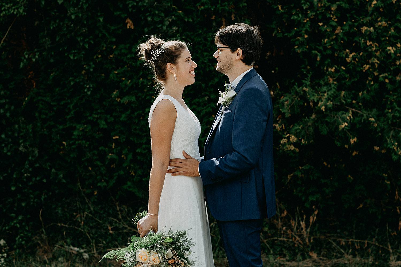 first look bruid bruidegom huwelijk Ardennen