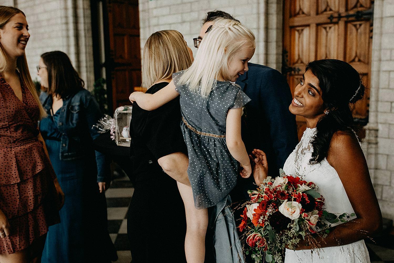 bruid lieve blik blond meisje stadhuis Leuven