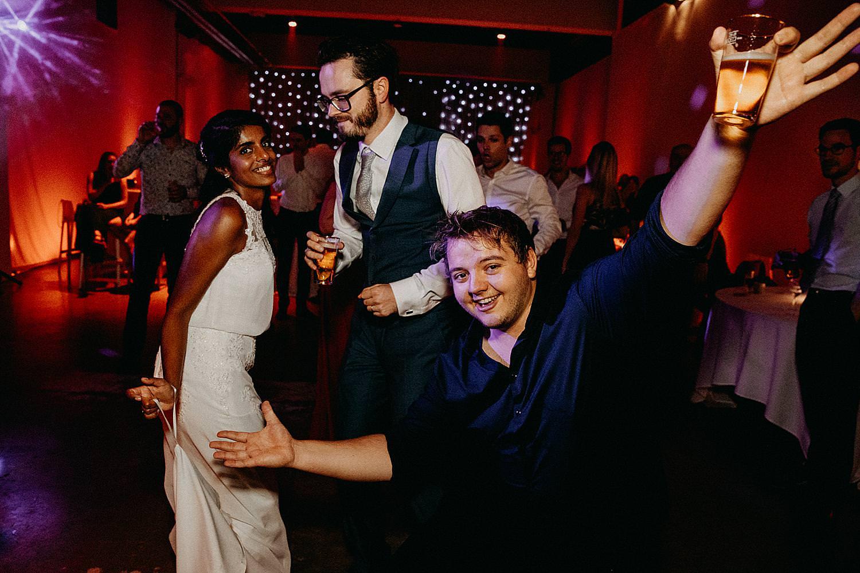 bruidspaar dansvloer Watt 17 huwelijk
