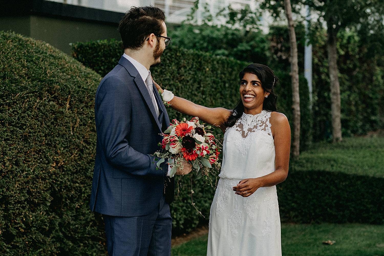 First look huwelijk
