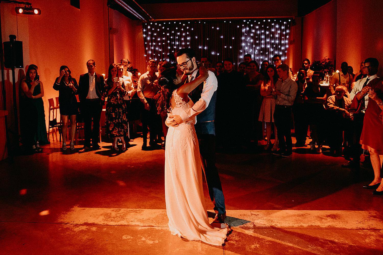 openingsdans bruidspaar huwelijk feestzaal Wat 17