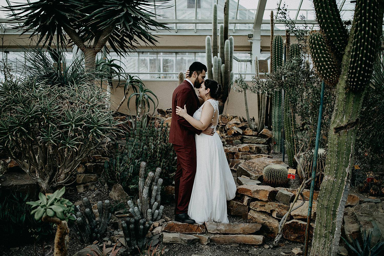 huwelijk plantentuin Meise serre