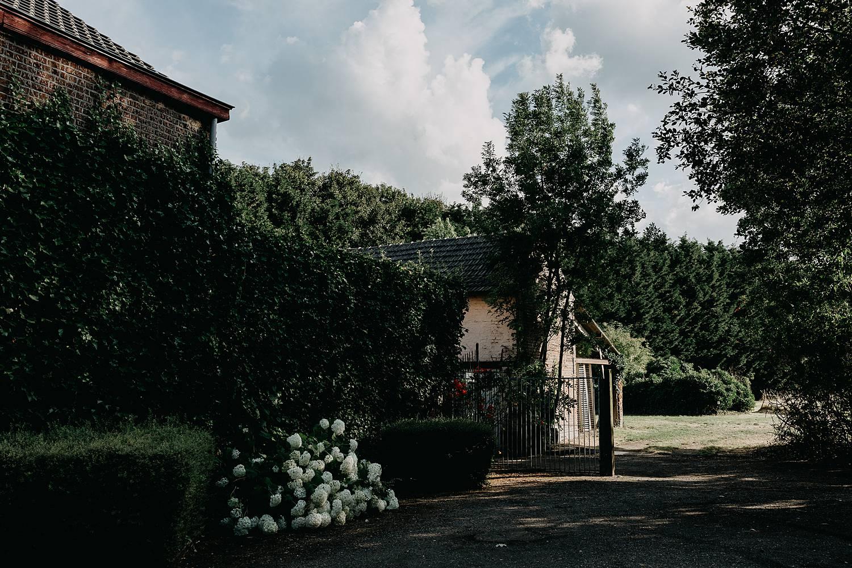 binnenplaats tuin huis van Mihr