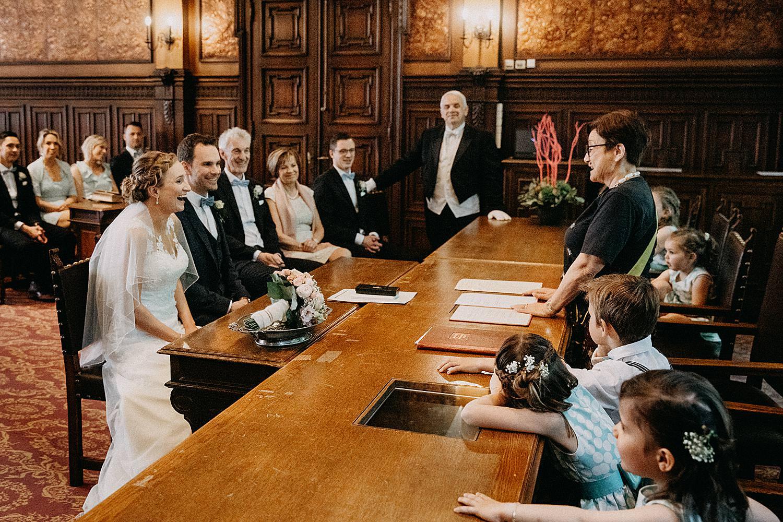 Stadhuis Hasselt huwelijk familie
