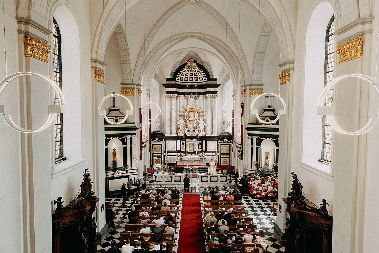 Sint-Quintinuskathedraal bovenaanzicht