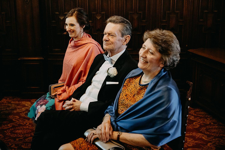 Stadhuis Hasselt ouders bruidspaar