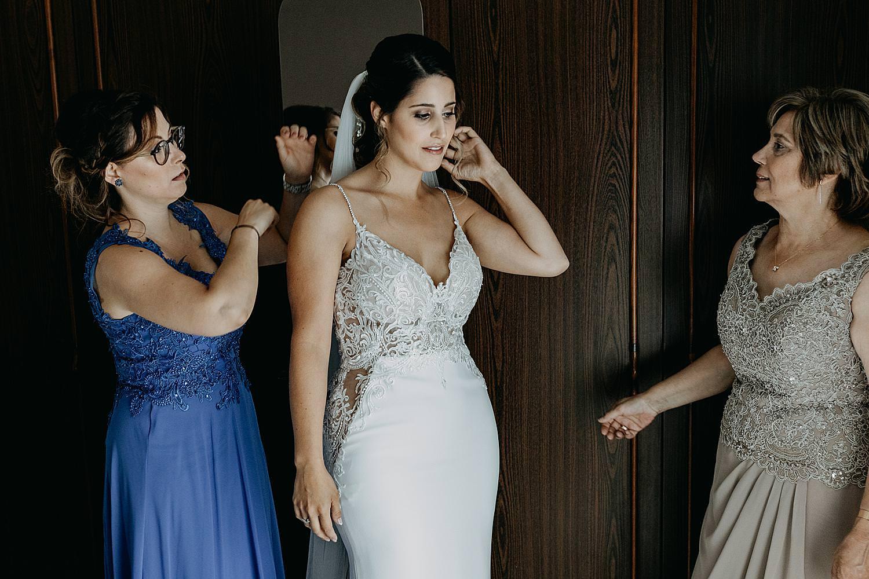 aankleden bruid slaapkamer Genk
