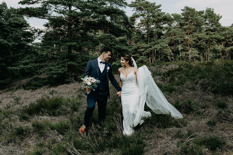 bruidspaar wandels Schemmersberg Genk