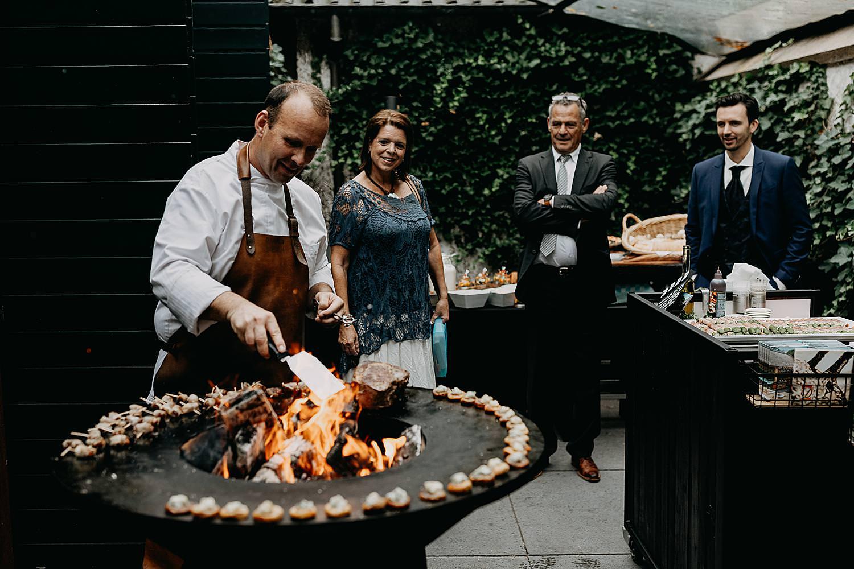barbecue huwelijk Groot Buggenum