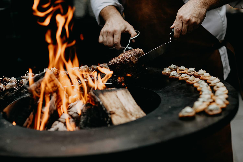 barbecue kasteel huwelijk