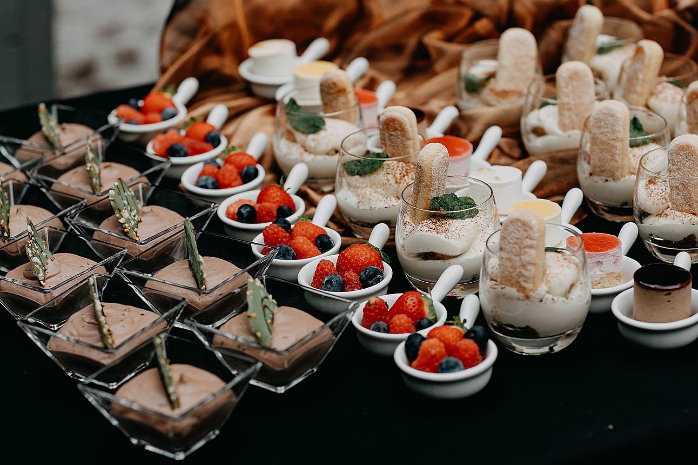 dessertbuffet kasteel Groot Buggenum