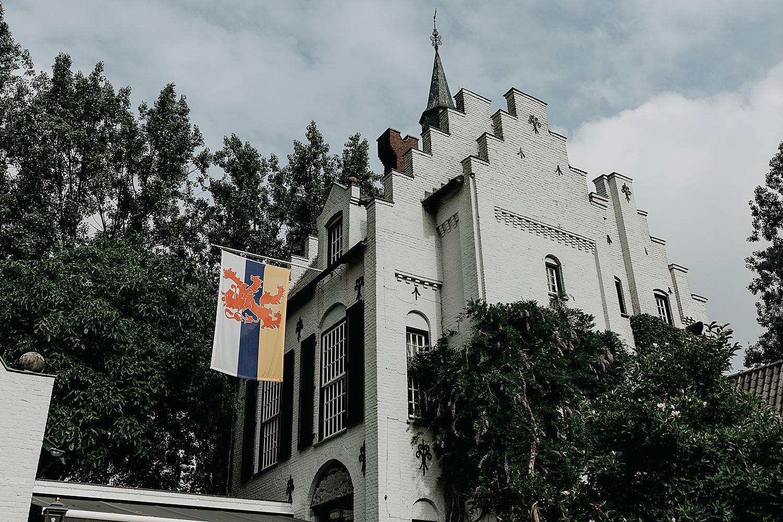 Wit kasteel Grootbuggenum