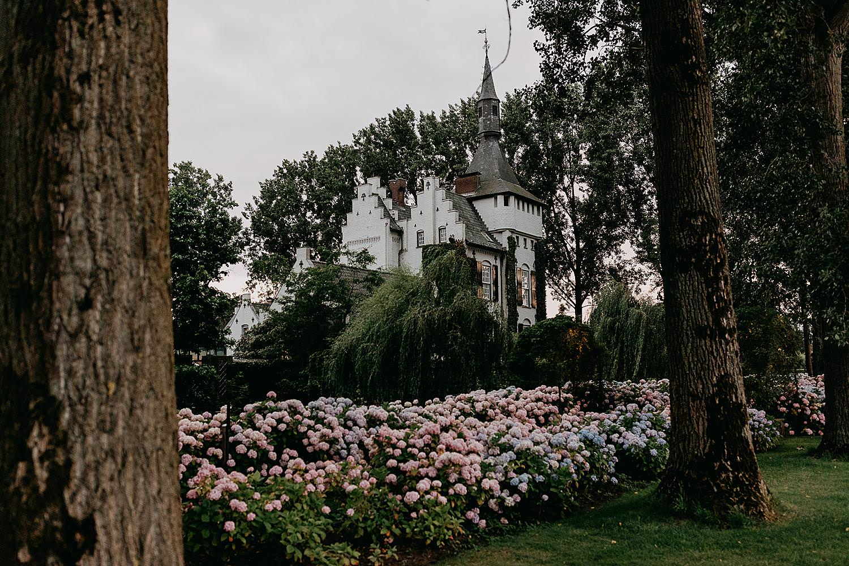Hortensias avond kasteel