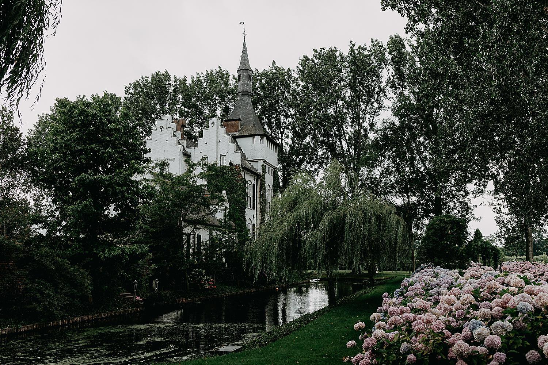 kasteel groot Buggenum hortensia tuin
