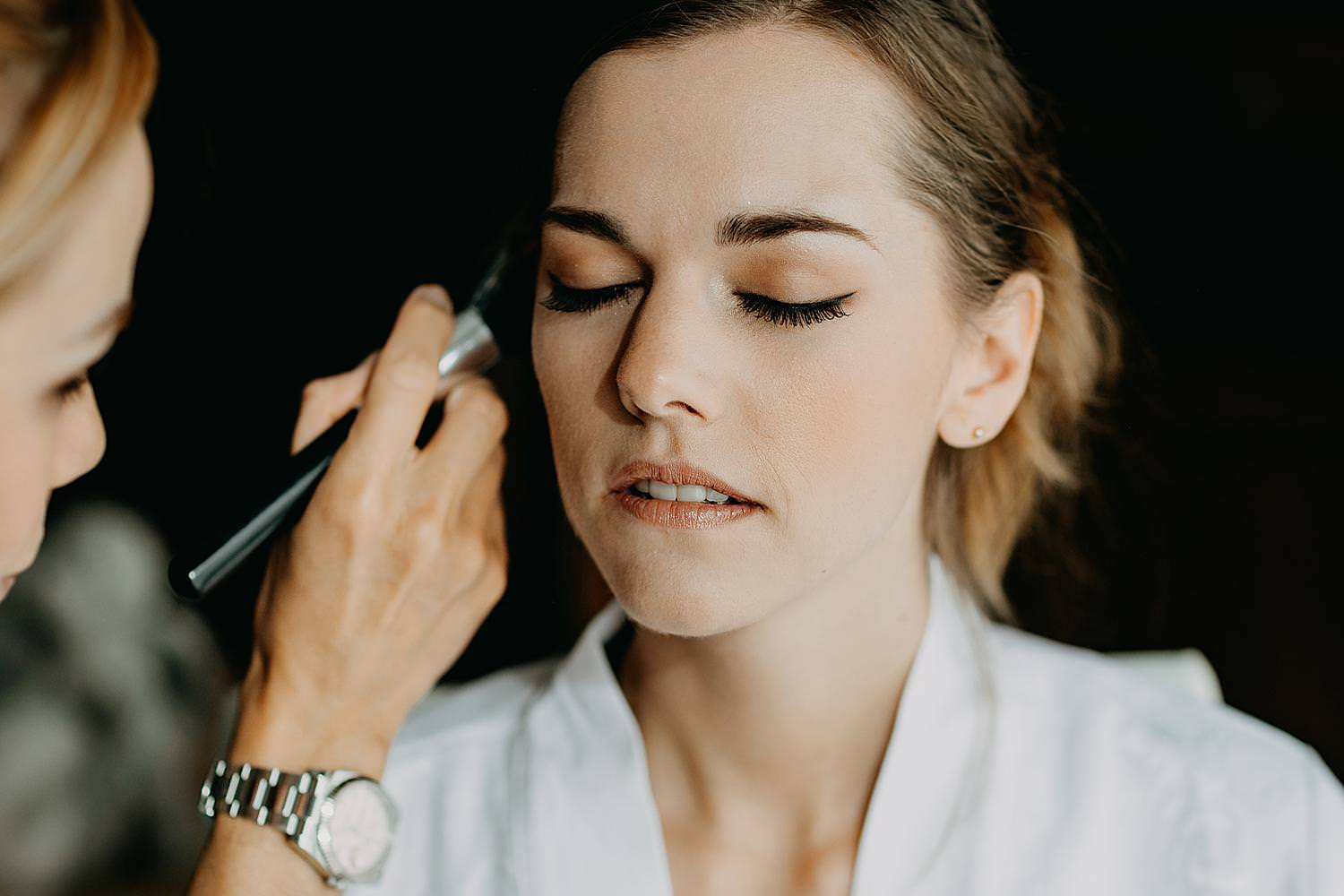 Make-up voorbereiding