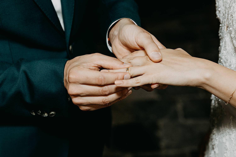 ringen uitwisselen huwelijk kerk Guvelingen