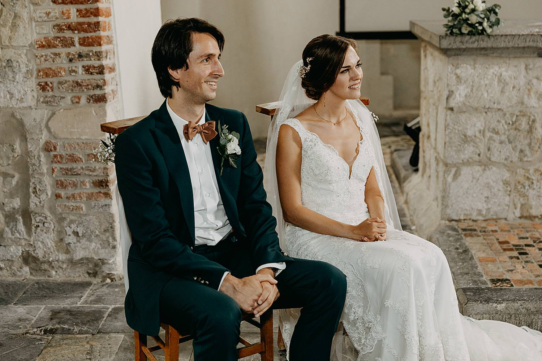 bruidspaar kerk Guvellingen