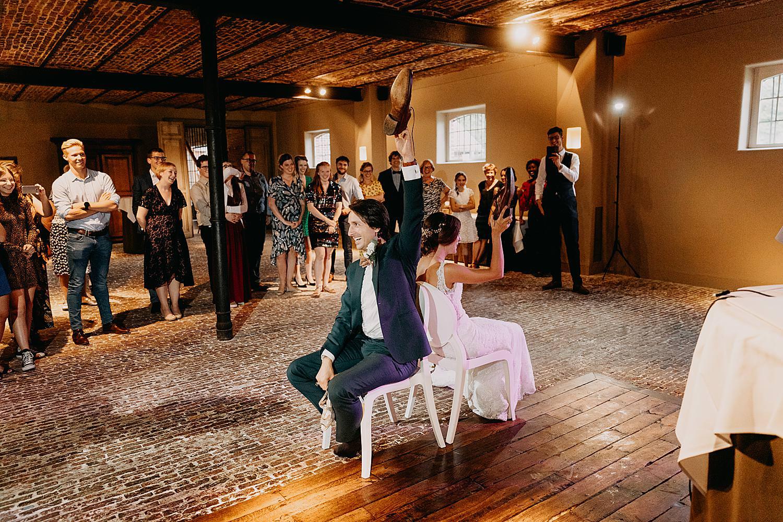 spel bruidspaar dansvloer huwelijk