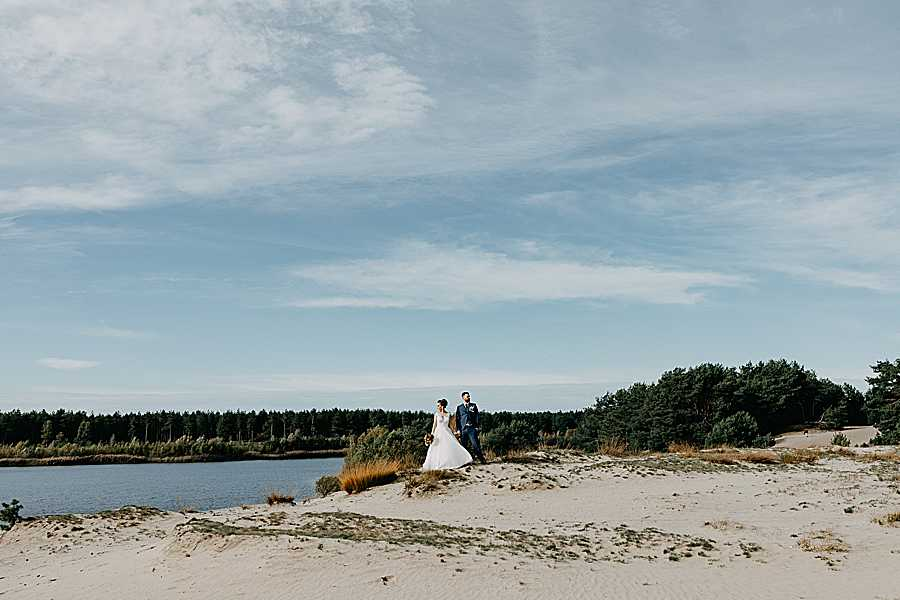 Sahara Lommel bruidsreportage