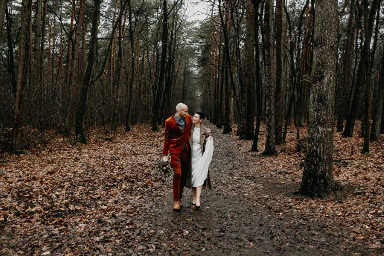 Huwelijk La Butte aux Bois
