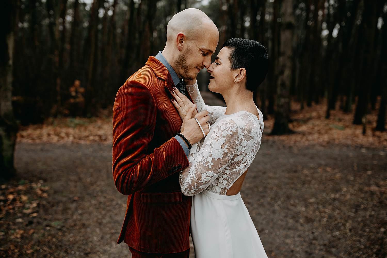 huwelijksreportage La Butte aux Bois