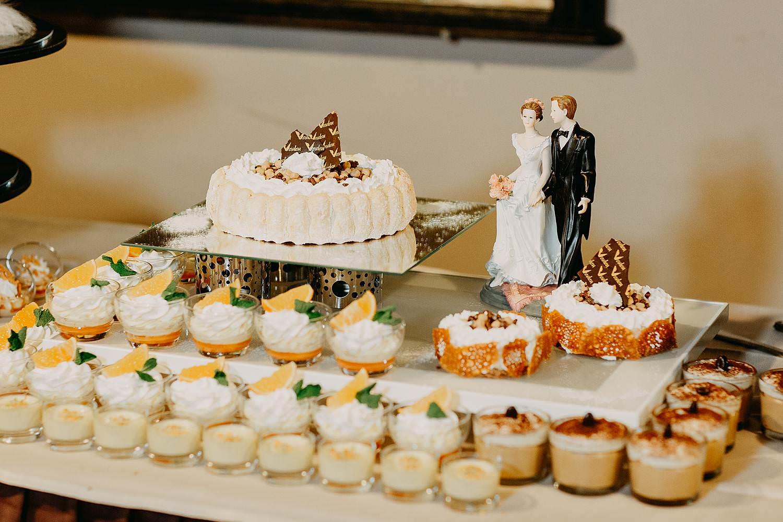 De Vesten dessertenbuffet huwelijk