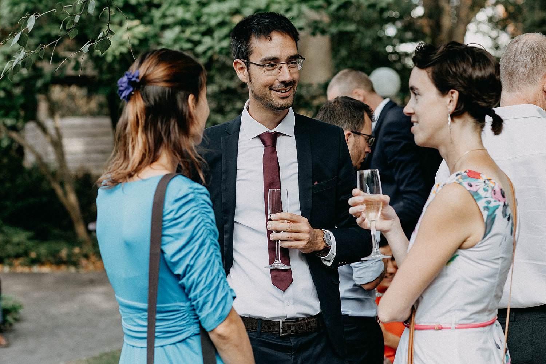 Den Hof huwelijk receptie tuin