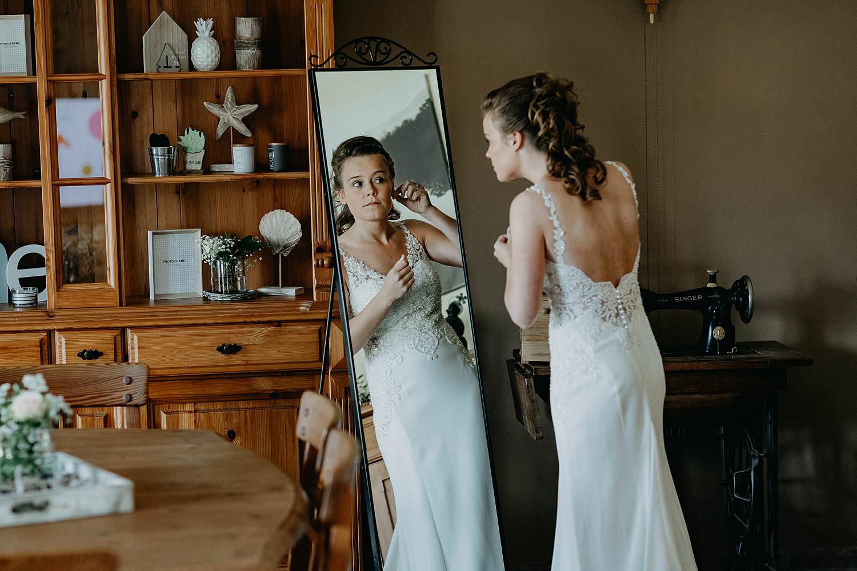 Aalbeke huwelijk voorbereiding bruid