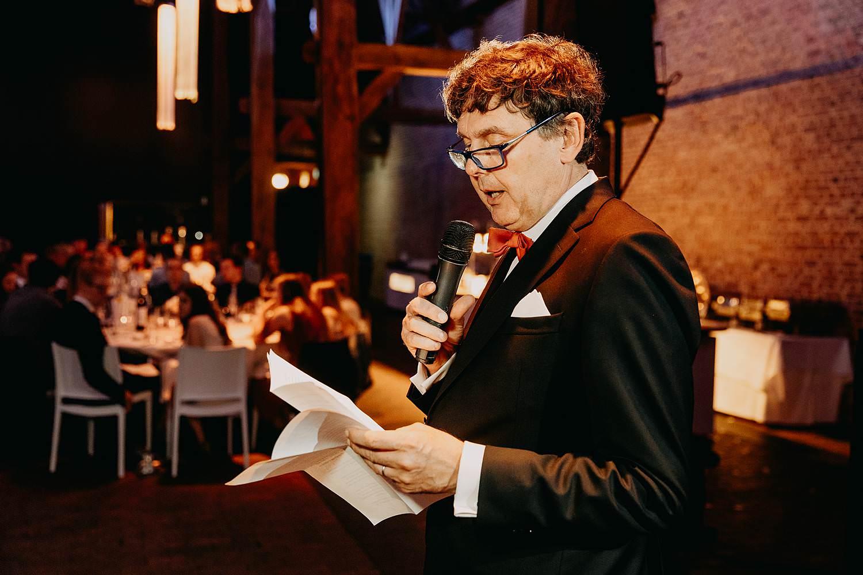Abdij Herkenrode huwelijk speech vader
