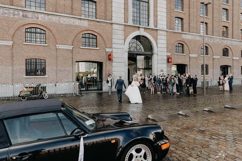 Antwerpen huwelijk Felix Pakhuis intrede