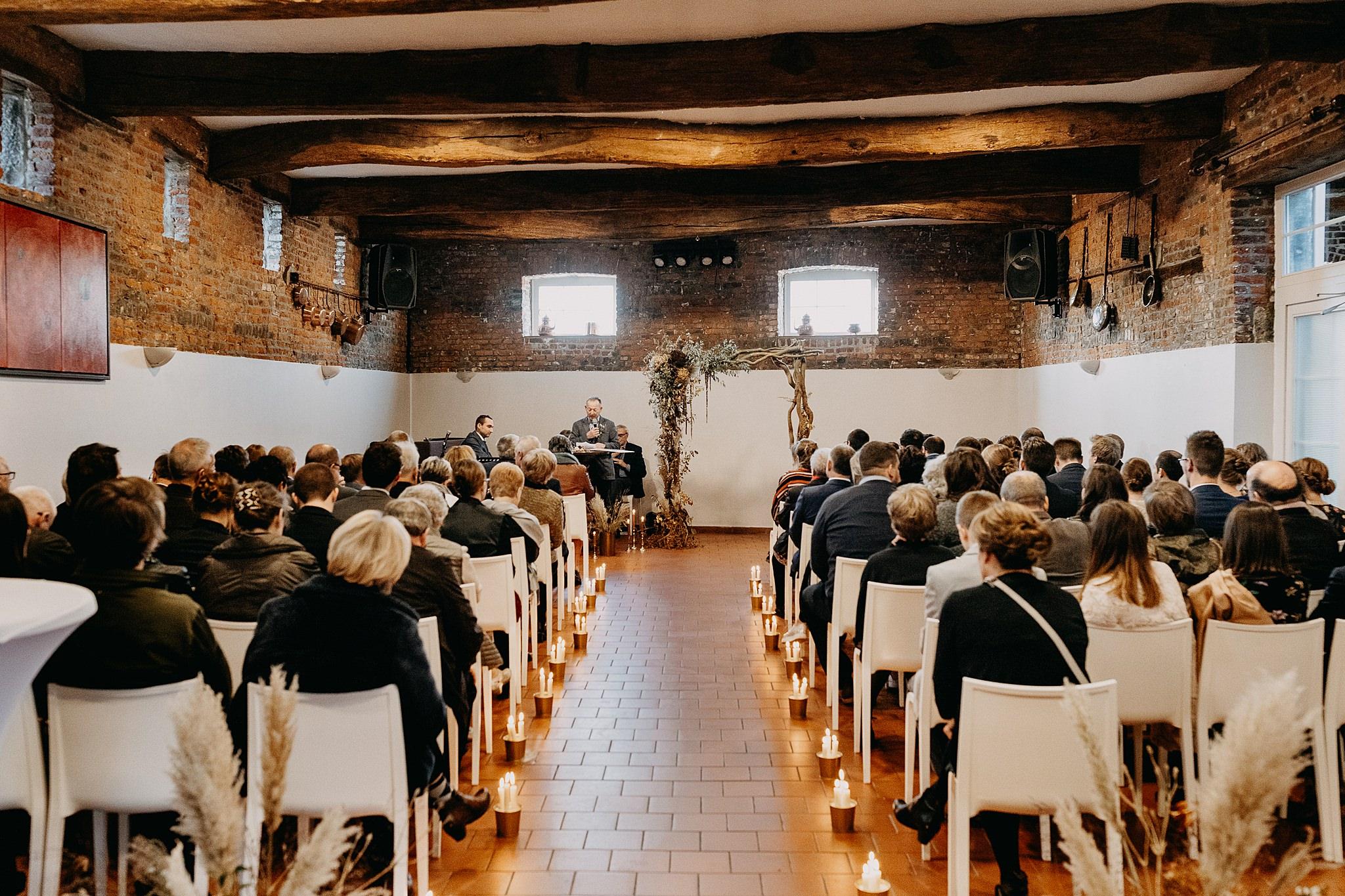 Aulnenhof binnenceremonie huwelijk