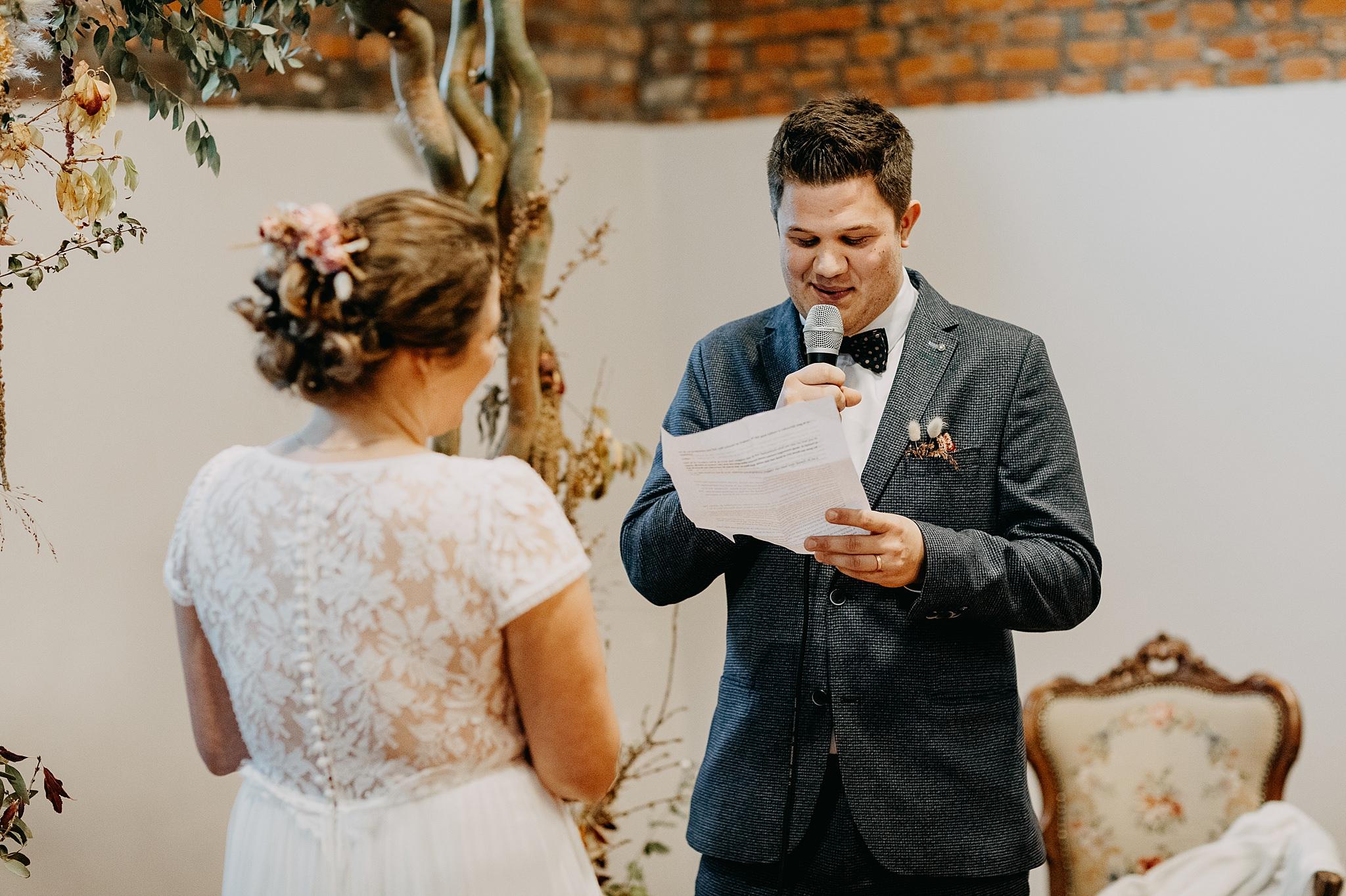 Aulnenhof ja-woord bruidegom huwelijk