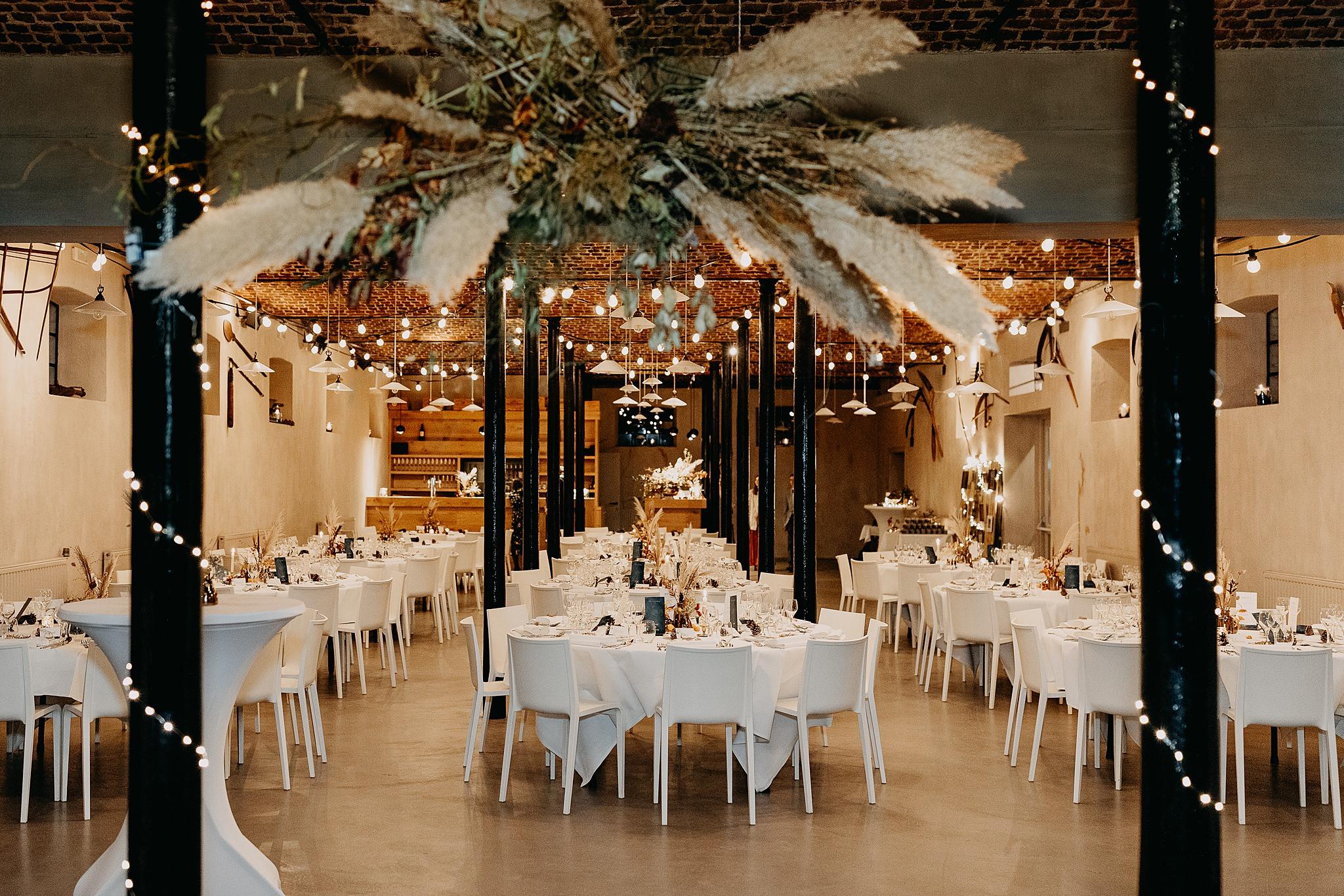 Aulnenhof versierde trouwzaal