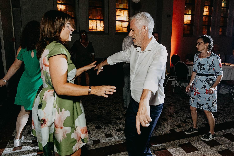 Avondfeest huwelijk dansvloer