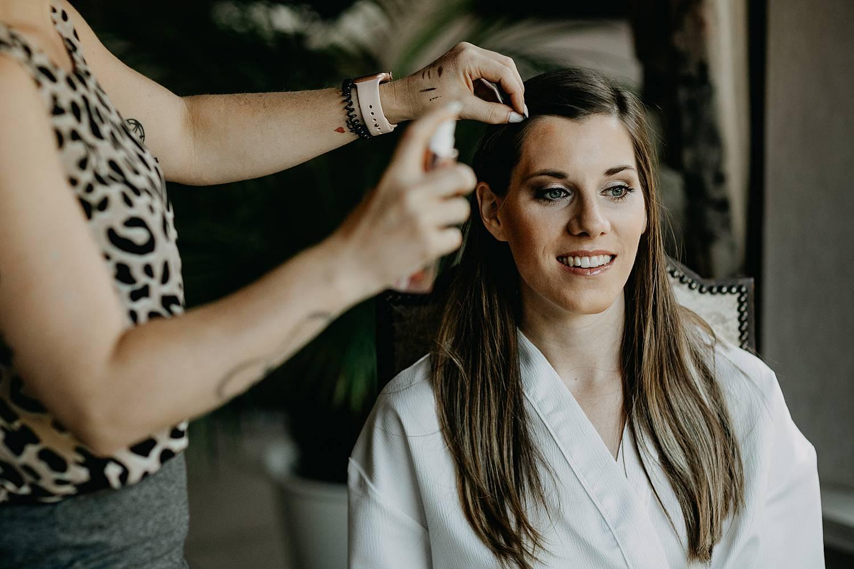 Brecht Bethaniënlei make-up bruid