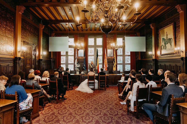 bruidspaar huwelijk stadhuis Hasselt
