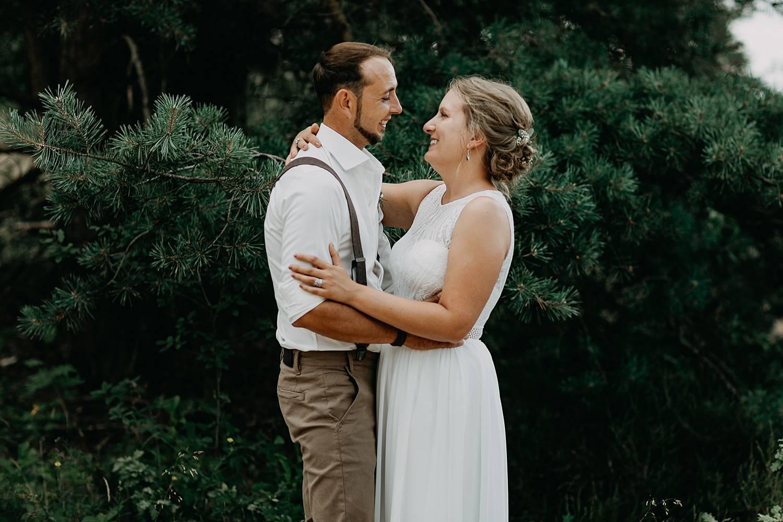 bruidspaar huwelijksreportage De Teut